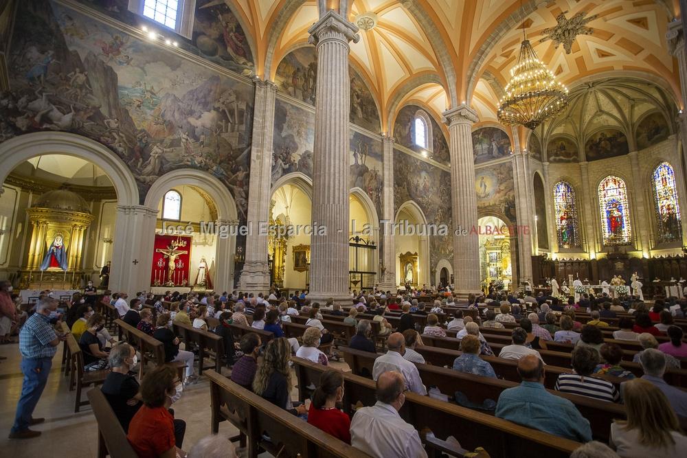 Misa en honor a la Virgen de los Llanos