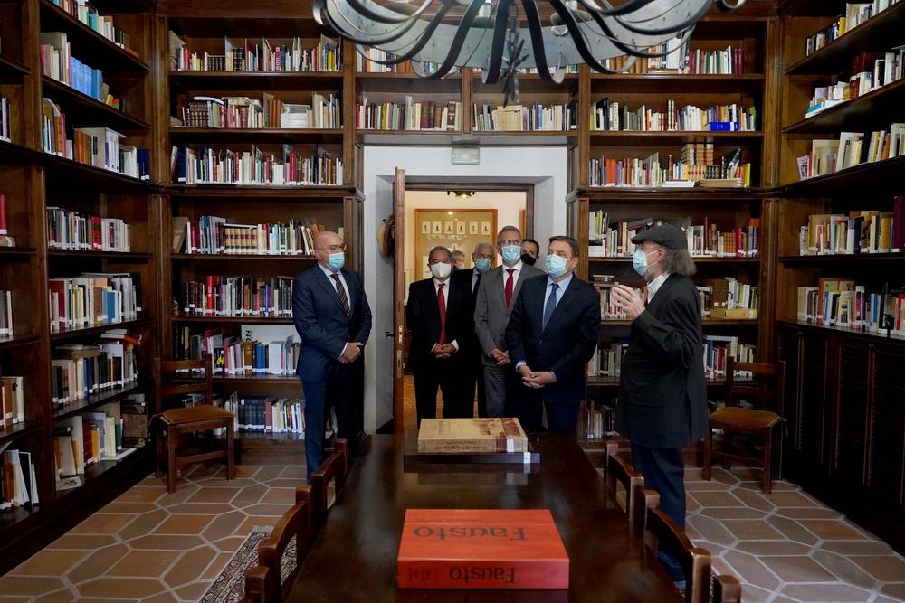 Visita del ministro de Agricultura, Pesca y Alimentación a Valladolid