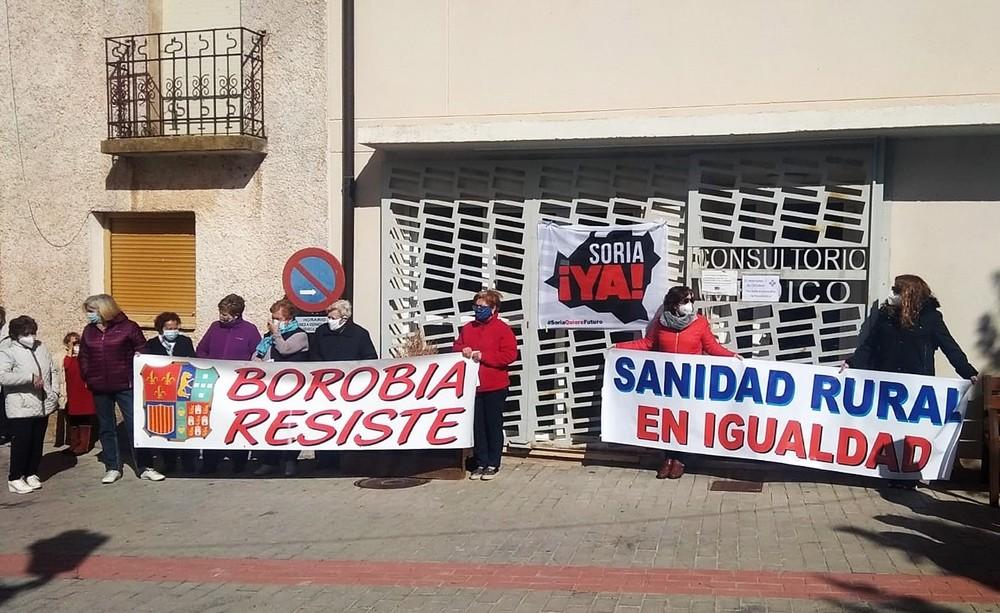 Los pueblos salen a la calle para defender la sanidad rural