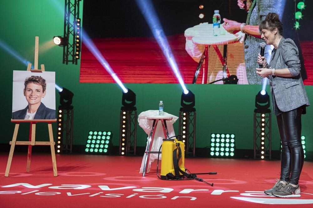 Aroa Berrozpe pone la nota de humor en los V Premios