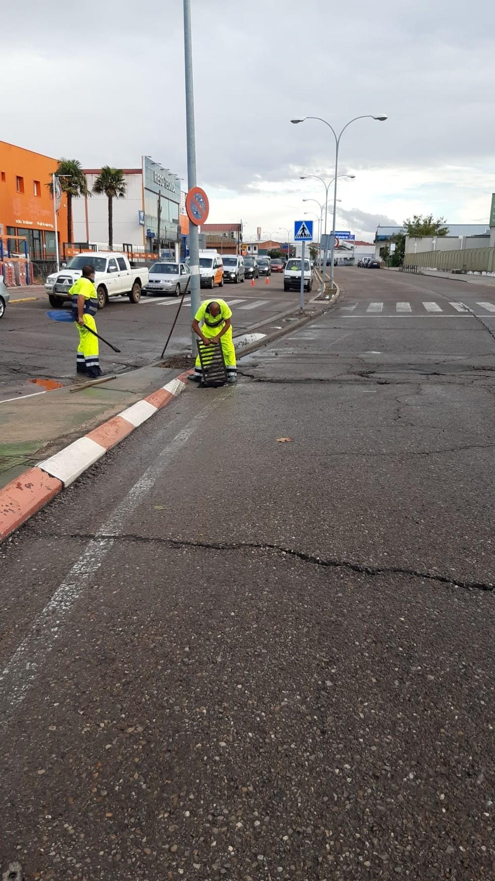 Las tormentas dejan 47 litros por metro cuadrado en Talavera