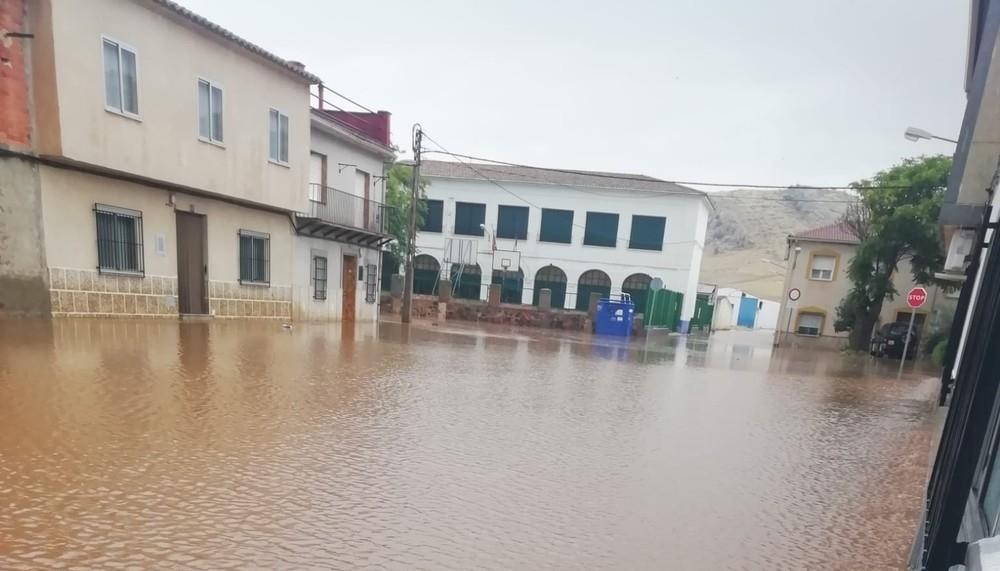 Inundaciones en Granátula de Calatrava