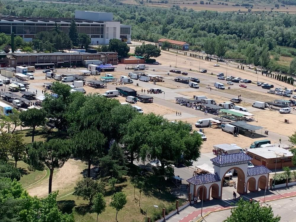 Vuelve el mercadillo de Talavera con un 70% de puestos