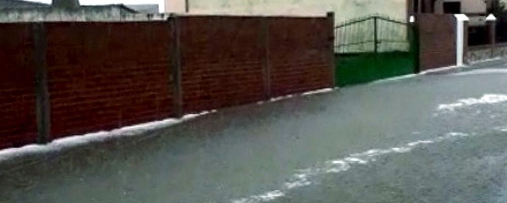 Una tormenta deja 35 litros en 20 minutos en Horcajo
