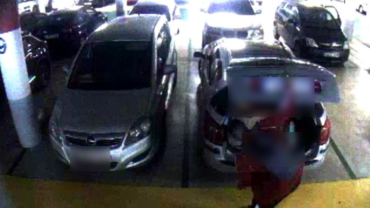 Imputado por robar en coches de un centro comercial