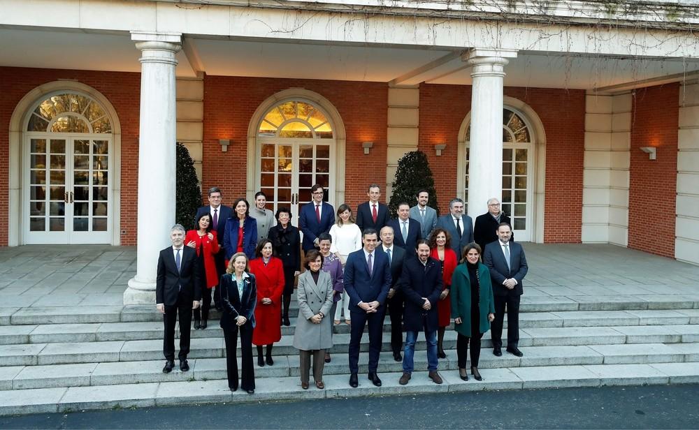 Arranca el primer Consejo de Ministros