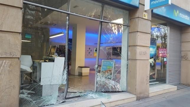 El 16 de enero de 2017 robaron mediante un alunizaje en una tienda de telefonía del paseo de Zorrilla, donde lograron 20.00 euros de botín.