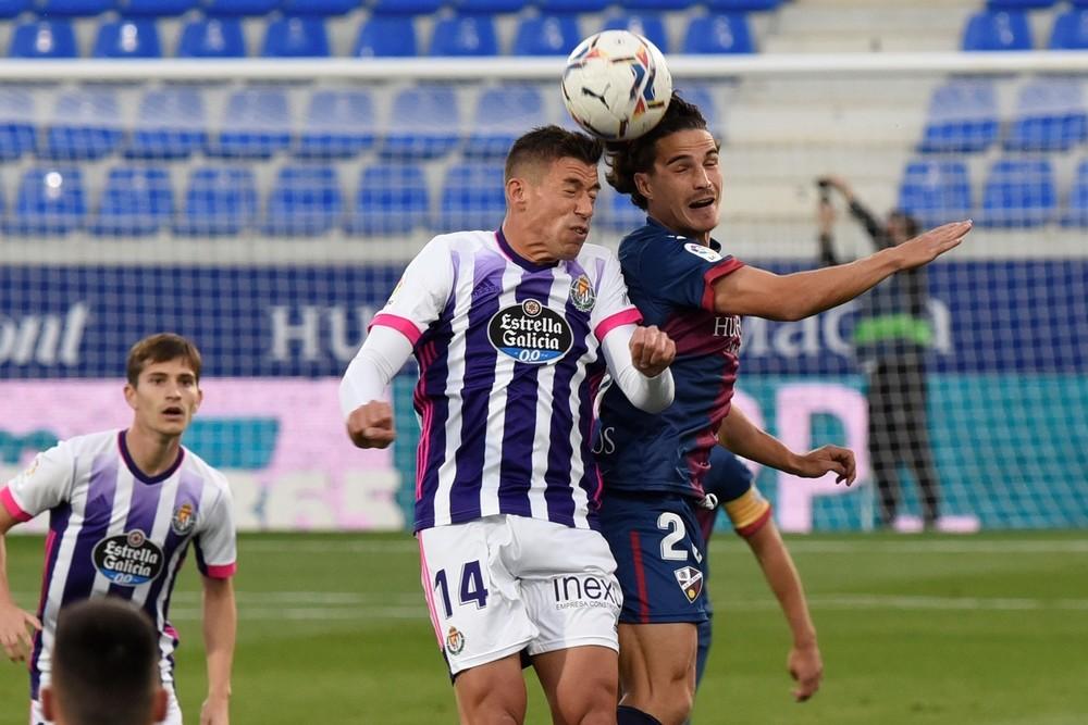 Huesca y Valladolid se olvidan de ganar