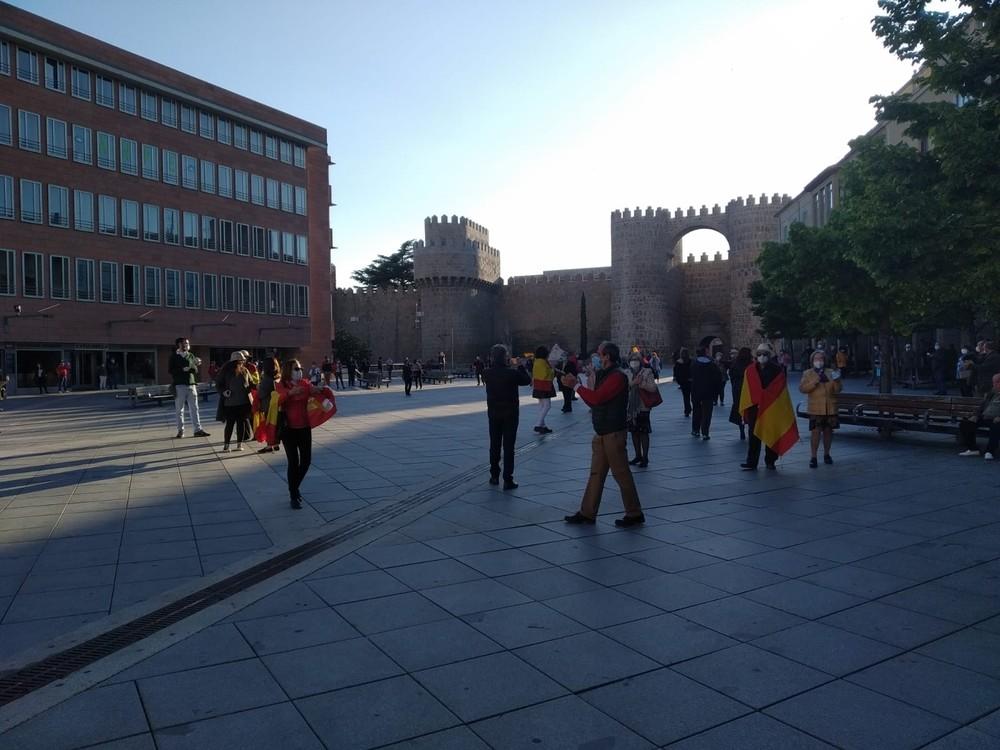 Ávila se suma a las protestas contra el Gobierno
