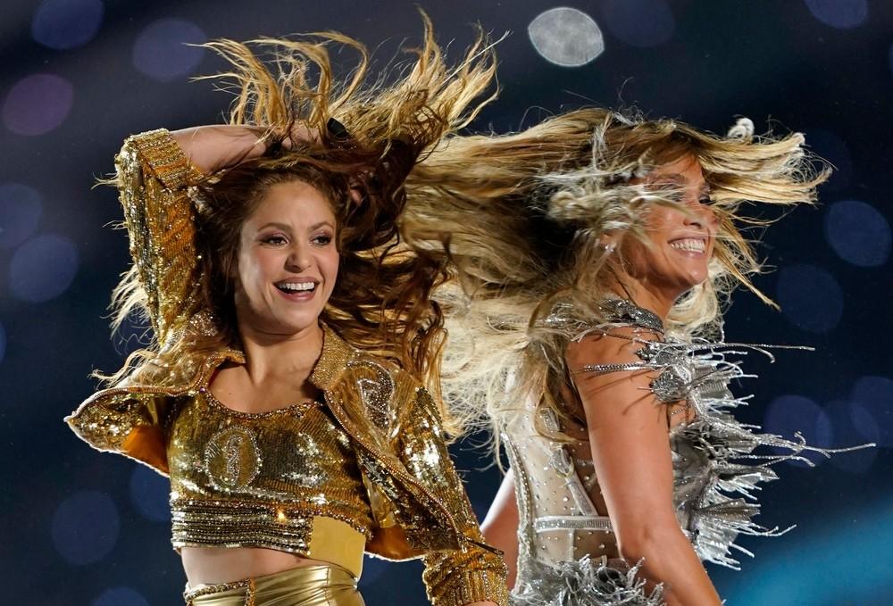 Las 'Diosas' pisaron el escenario de la Super Bowl
