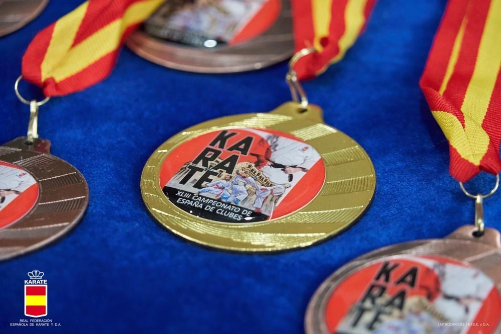 Los clubes de la provincia se cuelgan cinco medallas