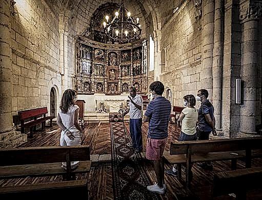 Lucio, un 'free tour' en la iglesia de Caltojar