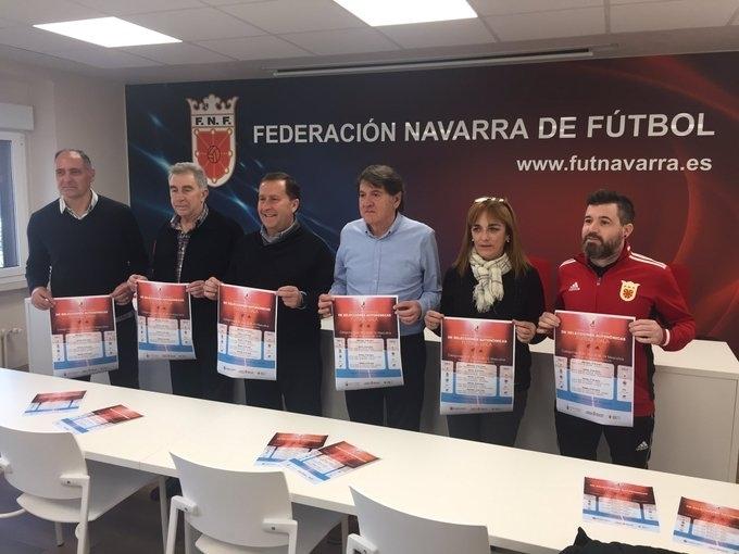 Navarra es anfitrión en el Campeonato de España de futsal