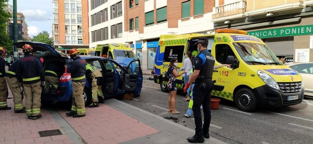Un accidente en la plaza San Juan registró un fallecido a primeros de junio.