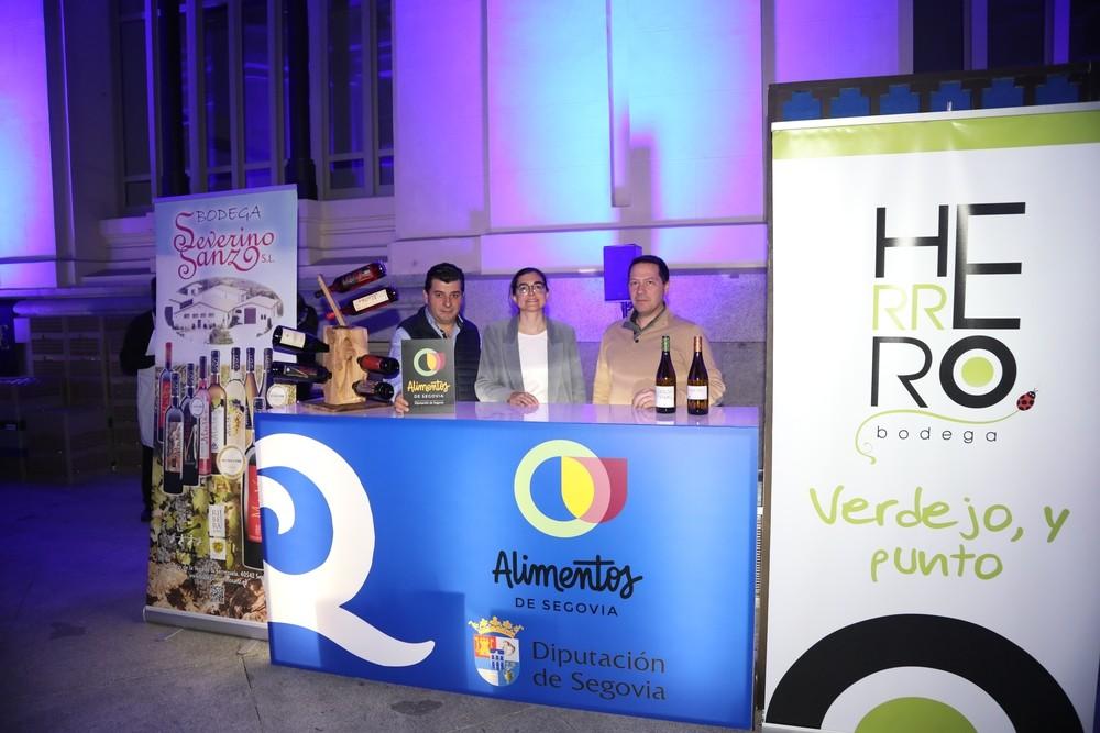 Alimentos de Segovia brilla en la Noche Q de Madrid