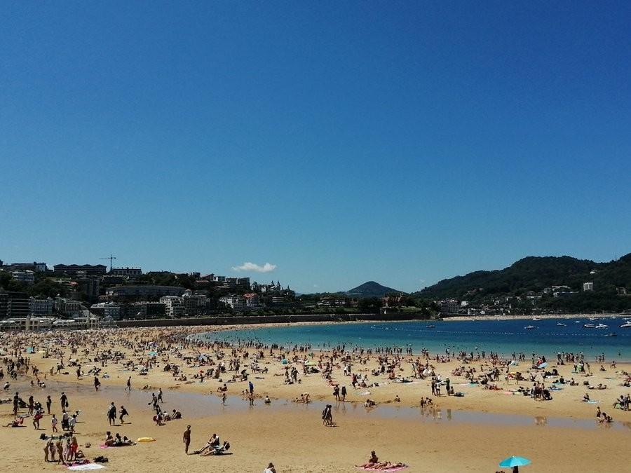 De visita a la playa con la nueva normalidad