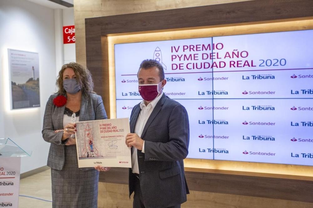 Bodegas Fernando Castro, premio Pyme del Año 2020