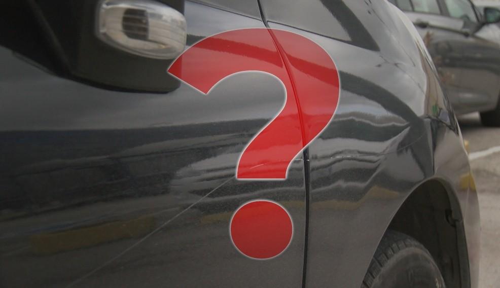 ¿Te has encontrado alguna vez tu coche rayado?