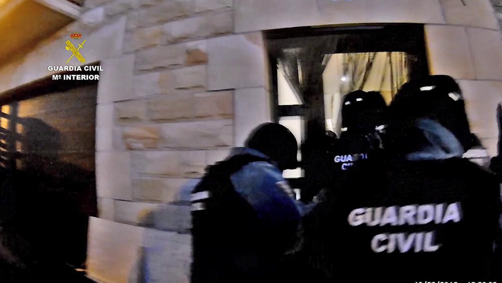 A prisión los 3 detenidos en Quintanar con speed y cocaína