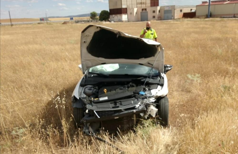 Fallece un hombre en un accidente de tráfico en Poblete
