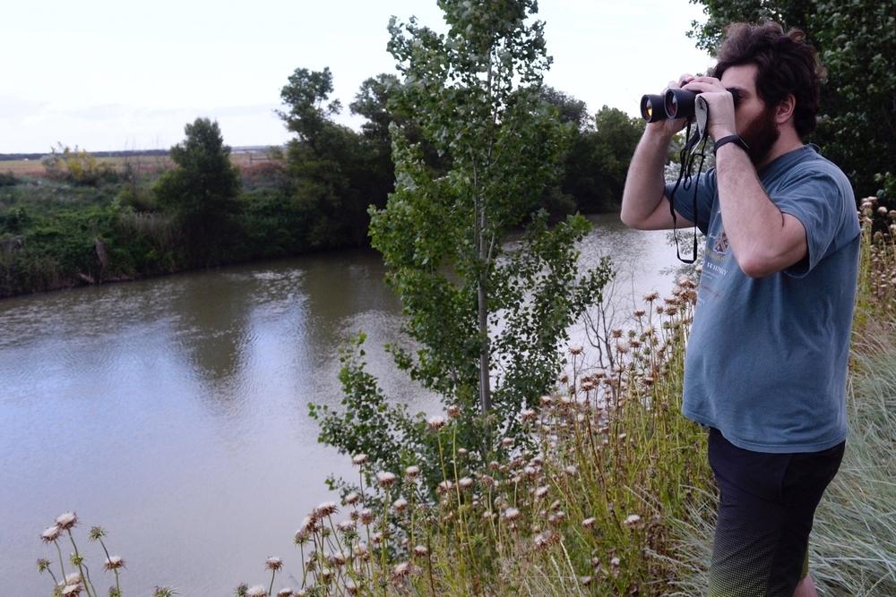 Buscan un cocodrilo en el río cerca de Simancas