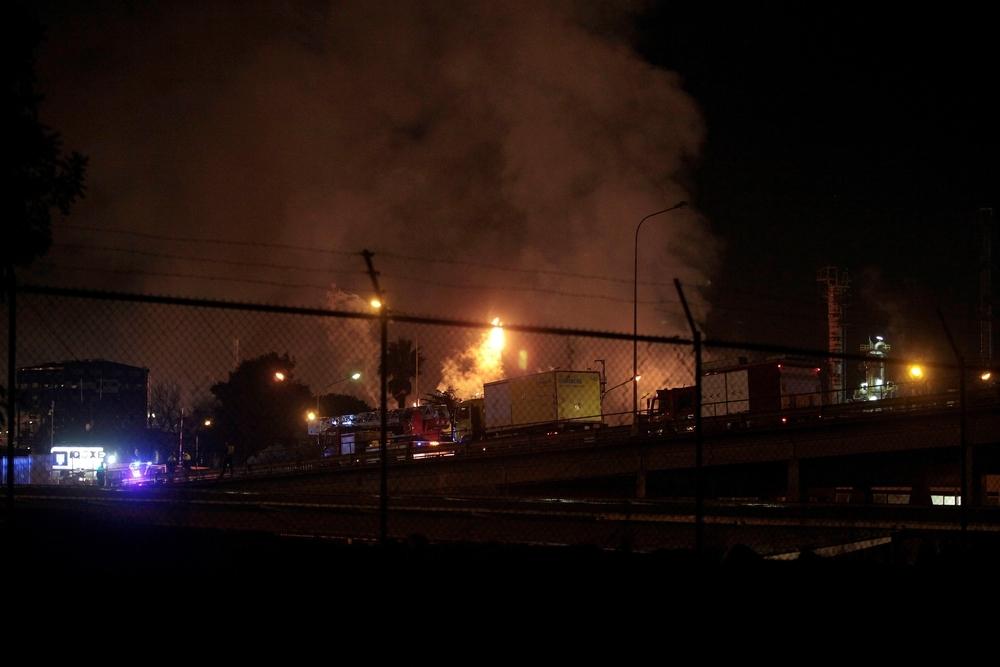 Explosiona parte de una planta petroquímica de Tarragona