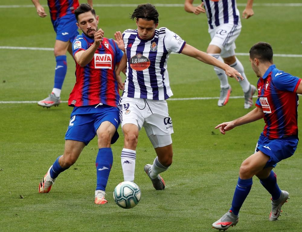 Imágenes del Eibar-Real Valladolid de la jornada 37.