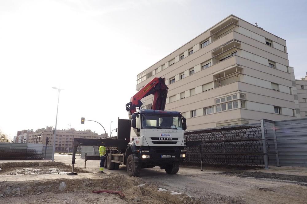 Reanudadas las obras del túnel de Andrómeda