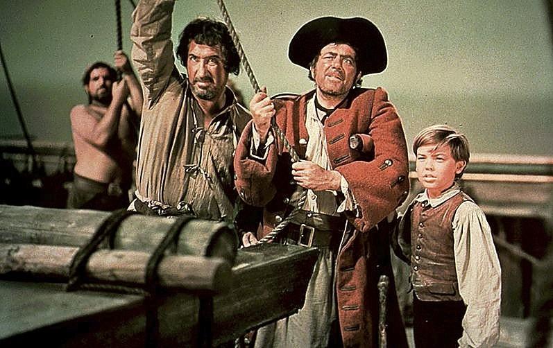 La factoría lanzó en 1950 'La isla del tesoro'.