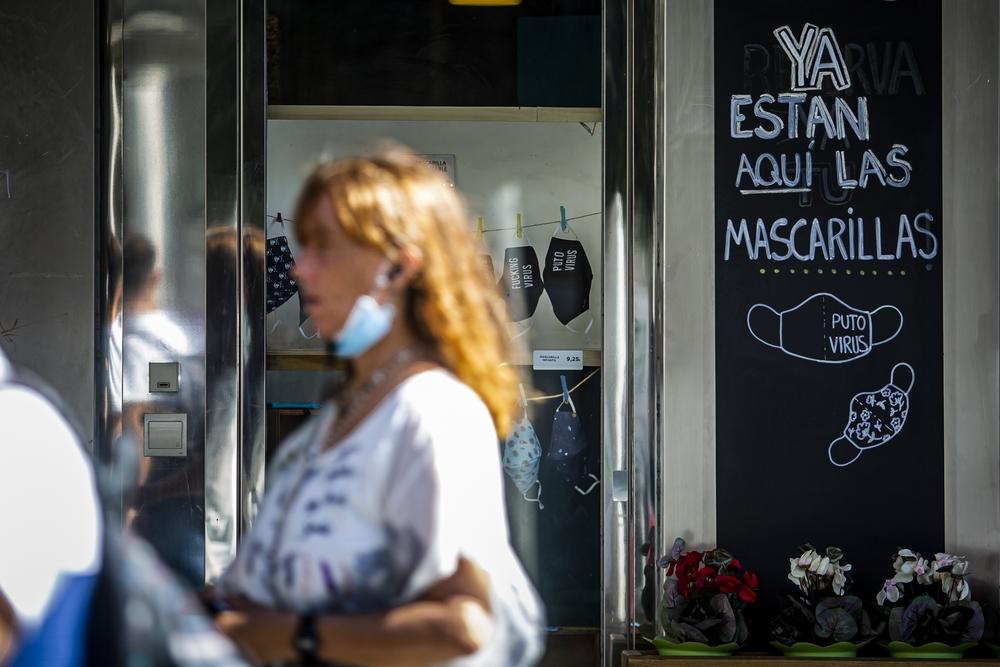 Uso de las mascarillas en Valladolid