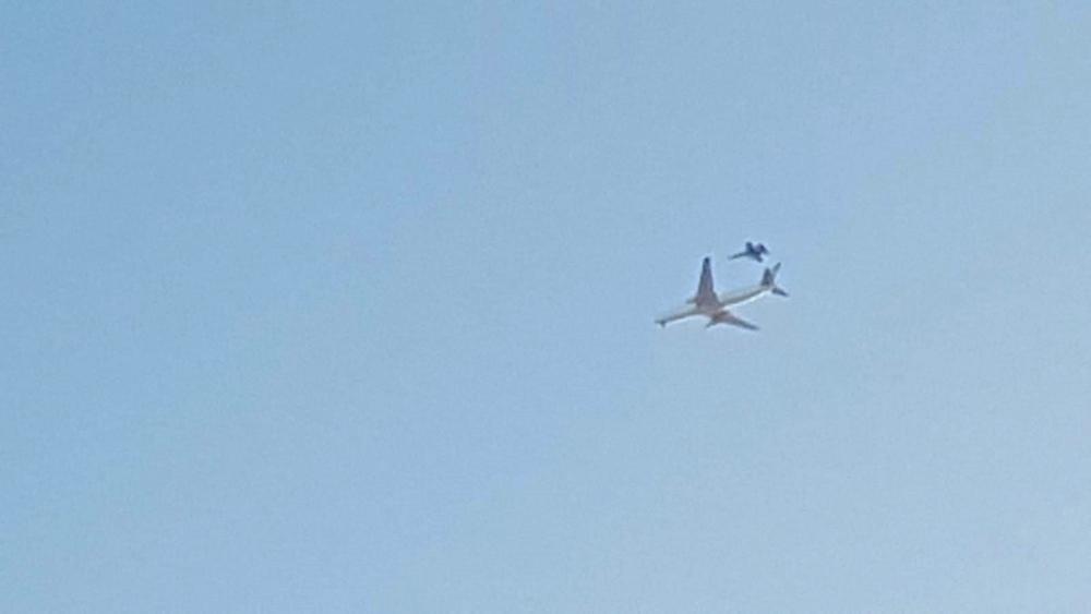 Aterriza sin incidencias el avión averiado de Air Canadá