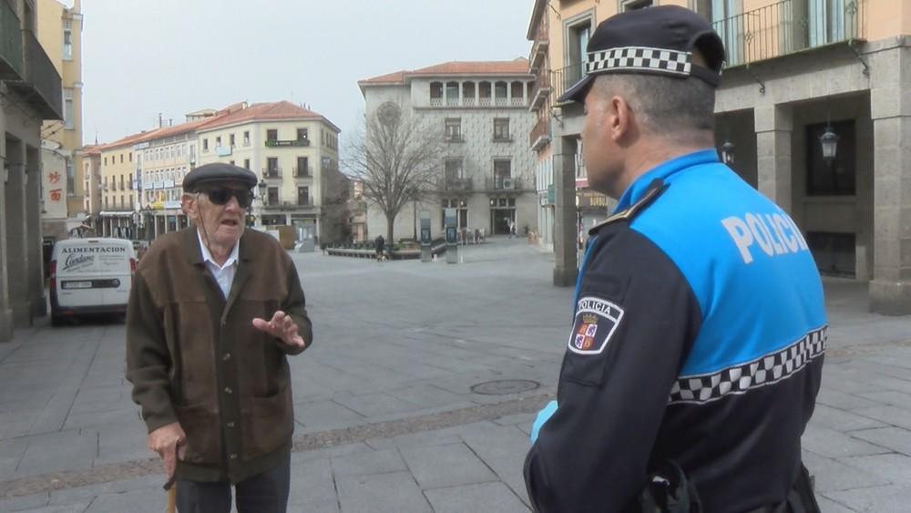 23 denuncias por desobediencia ciudadana en Segovia