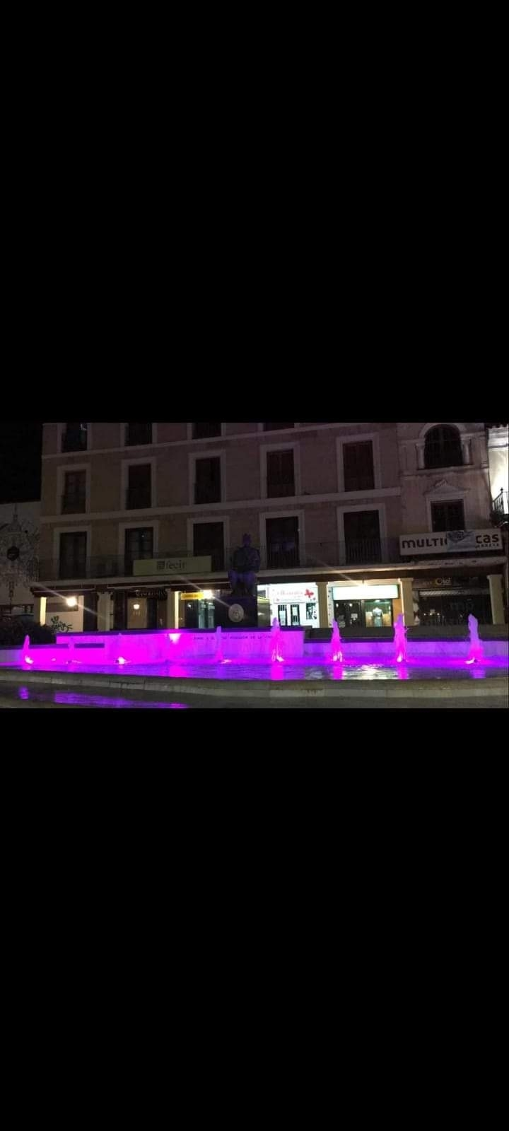 Alfombra de sal de Amuma en la Plaza Mayor