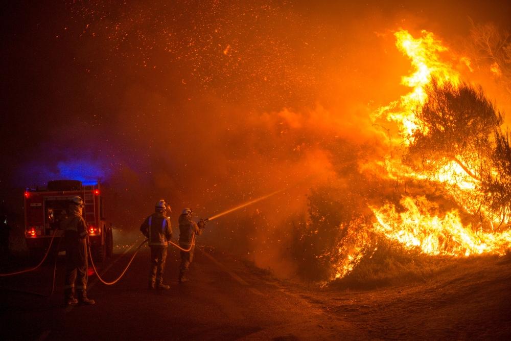 Más de 2.250 hectáreas quemadas por el fuego en dos dÁas negros en Galicia