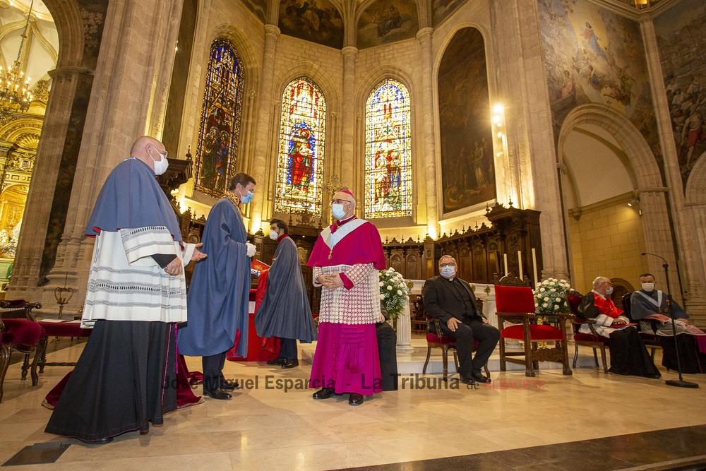 El obispo ya es capellán de la Orden de San Jorge