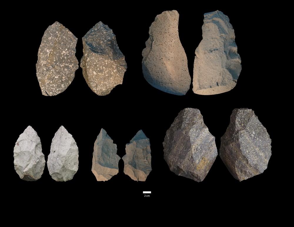Hallazgos realizados en los yacimientos de Gona (Etiopía).