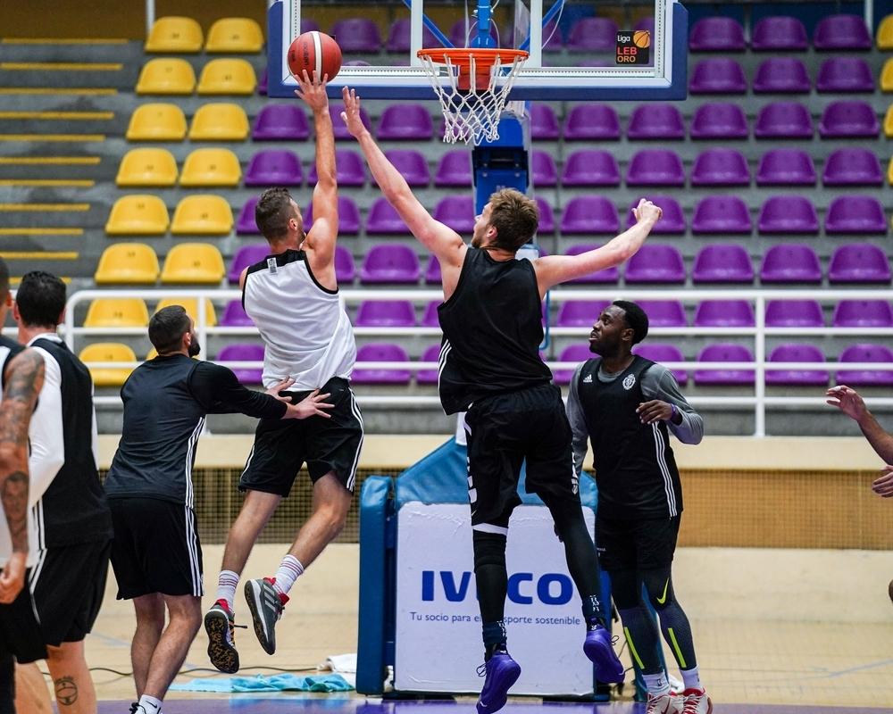 Partido de entrenamiento del Real Valladolid Baloncesto