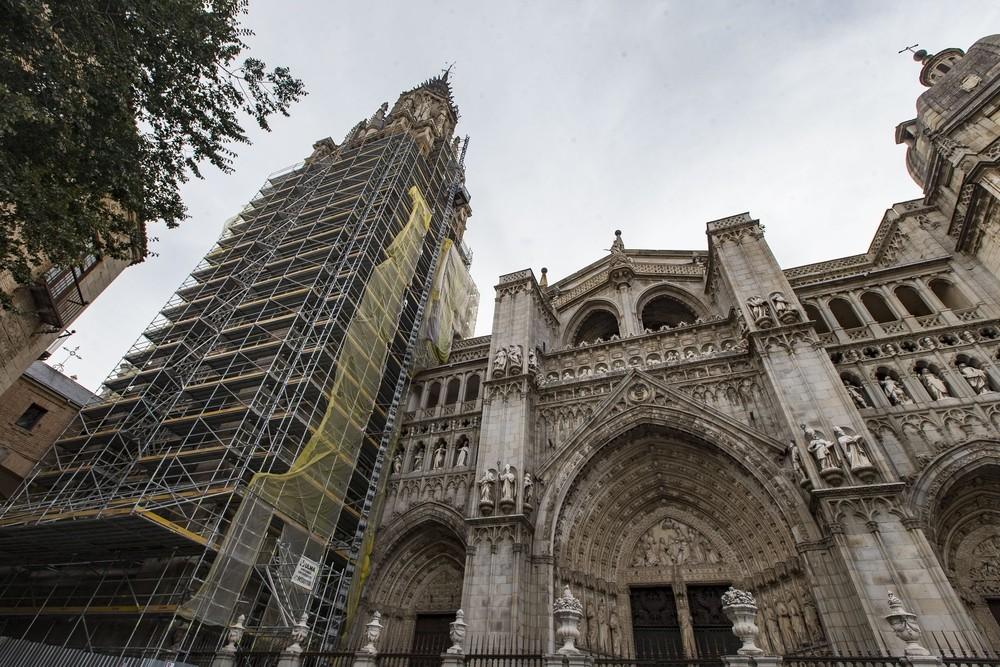 La restauración de la torre de la Catedral está finalizada