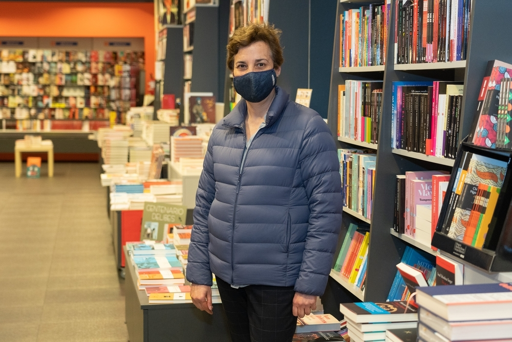 Estrella García, de la librería Oletvm.