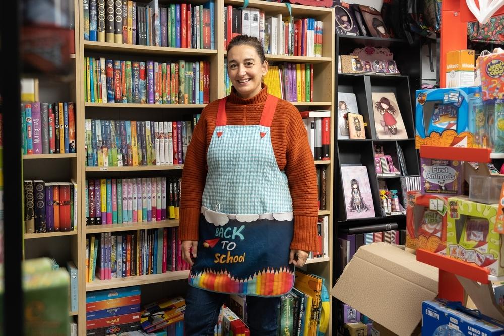 """Raquel San José, de """"La librería de mi Barrio""""."""