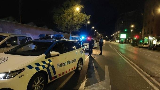 Control de la Policía Local durante el estado de alarma.