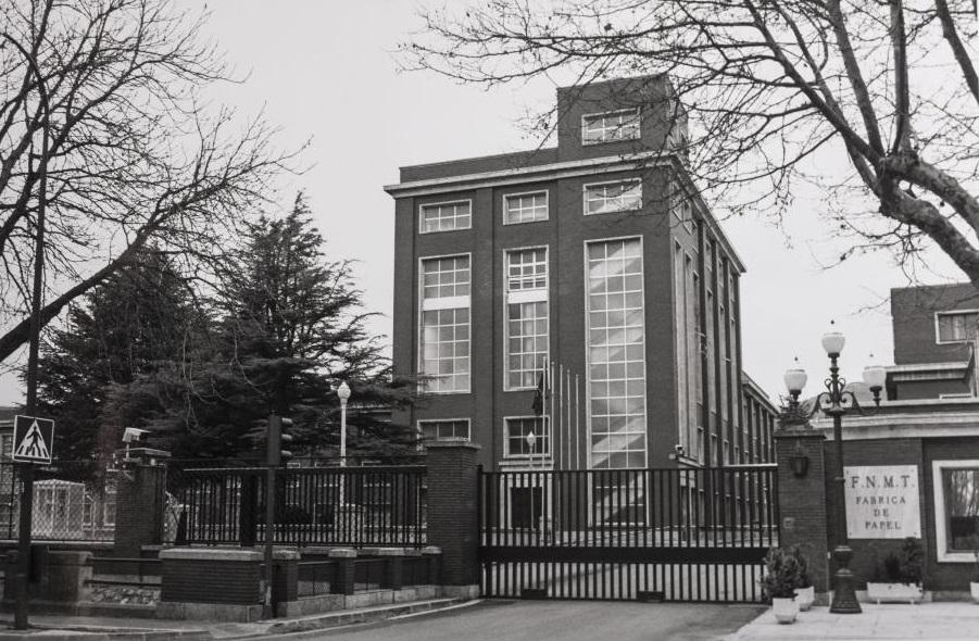 La Fábrica de Moneda y Timbre no fue, en 1978, inexpugnable para los ladrones.