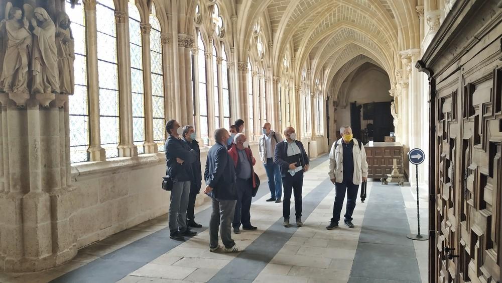 Las Edades visita la Catedral antes de la exposición de 2021