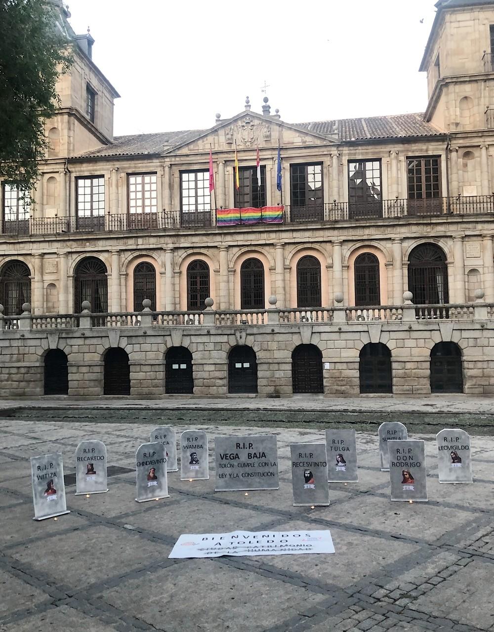 Un cementerio visigodo frente al Ayuntamiento por Vega Baja