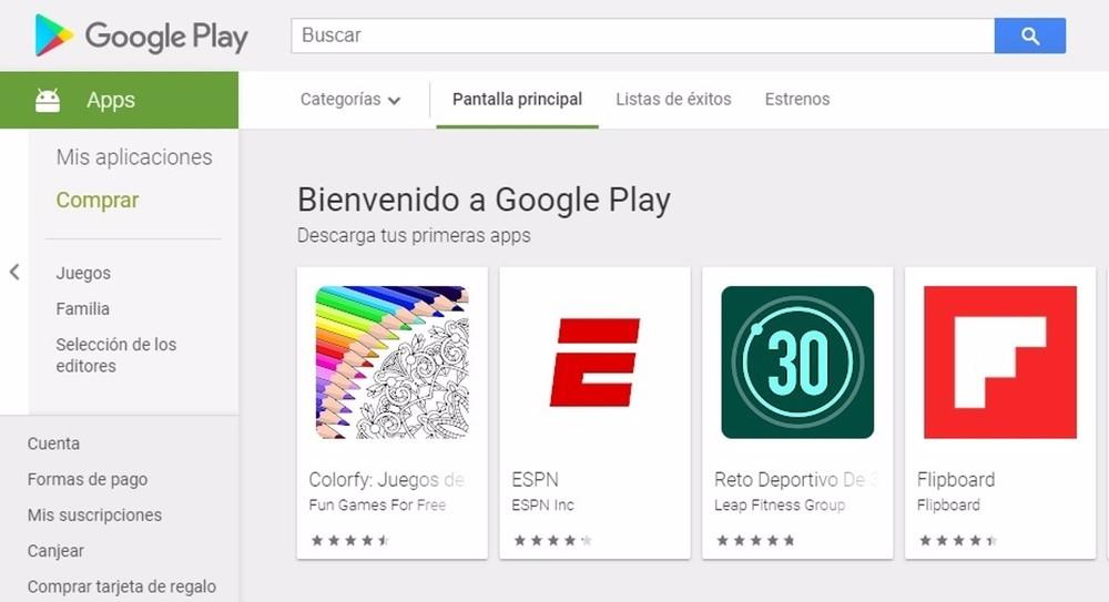 Google Play Store permitirá comparar aplicaciones similares