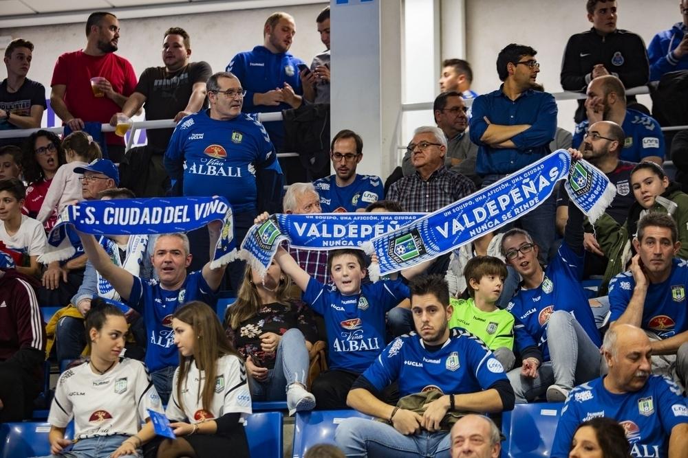 La afición del Viña Albali, la mejor de Primera División