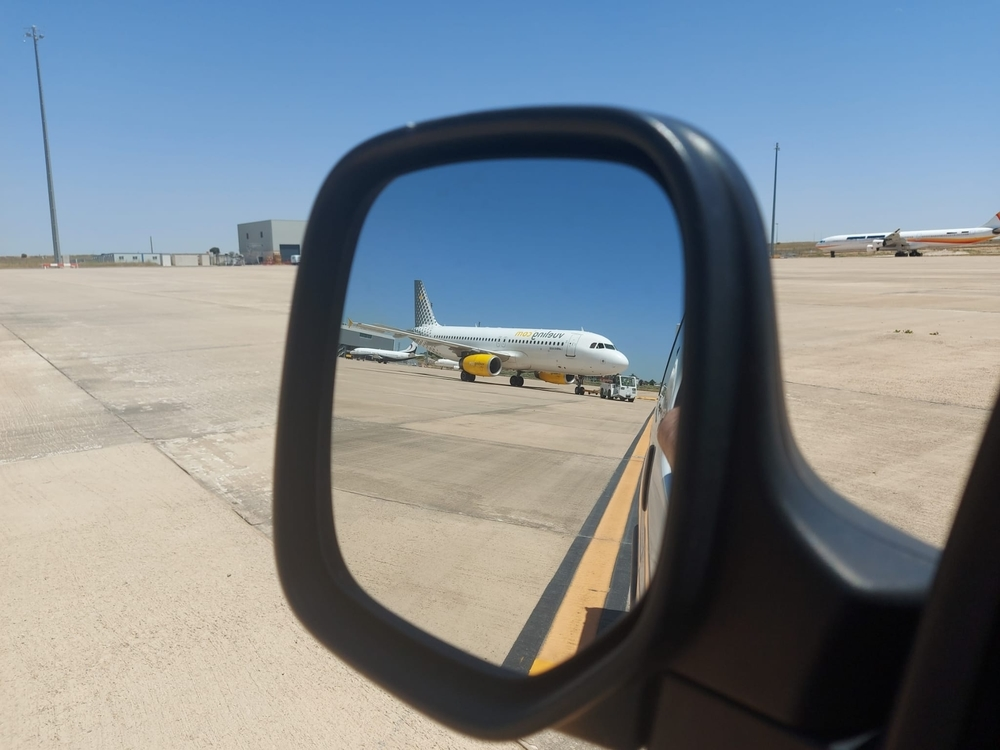 Ciudad Real albergará 20 aviones de Vueling gracias a JAS. / Miguel Ángel Roldán