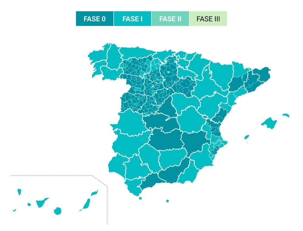 Navarra entrará el lunes en la fase 1 de la desescalada