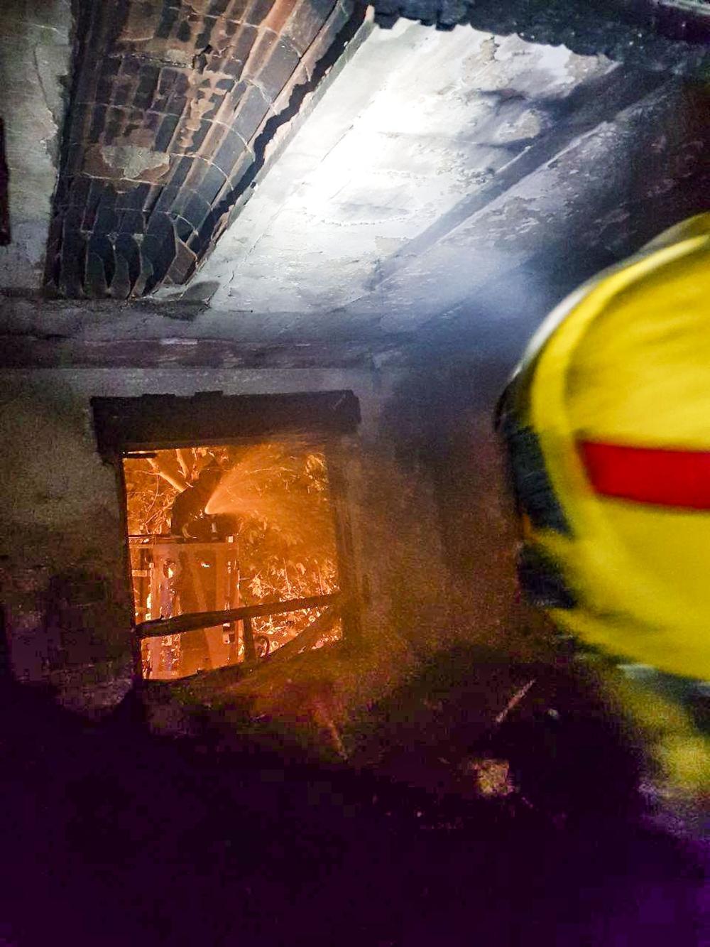 Desalojados 45 vecinos por un incendio en Puertollano
