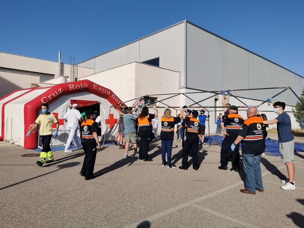 Incendio en el hospital de Hellín: 44 pacientes eacuados